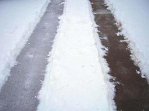 Sidewalk side by side using Organic Melt