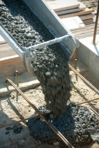 shutterstock_39890818 - cement being poured