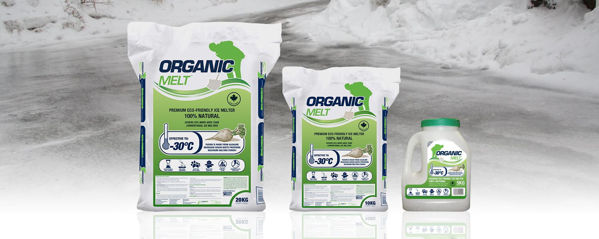 organic melt header
